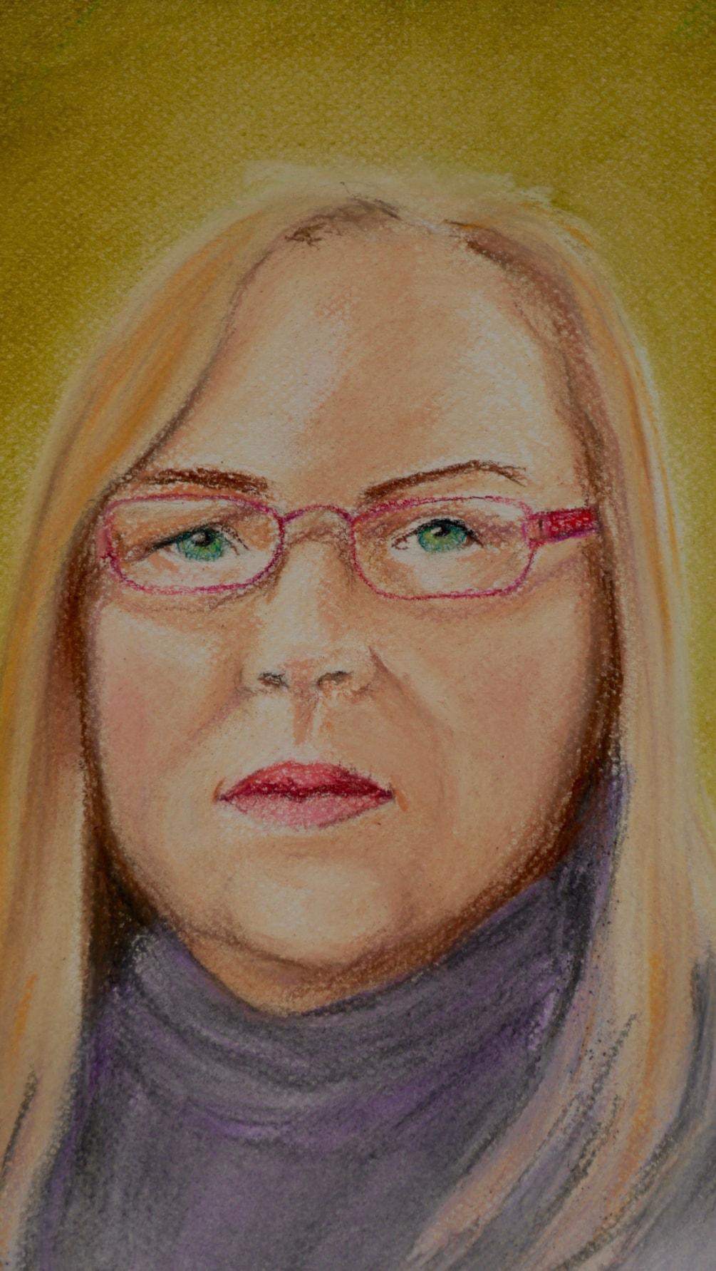 Smee: My First Self Portrait