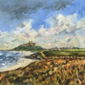 Bamburgh from the North