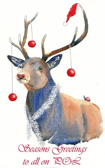 Merry Christmas from Rudolph