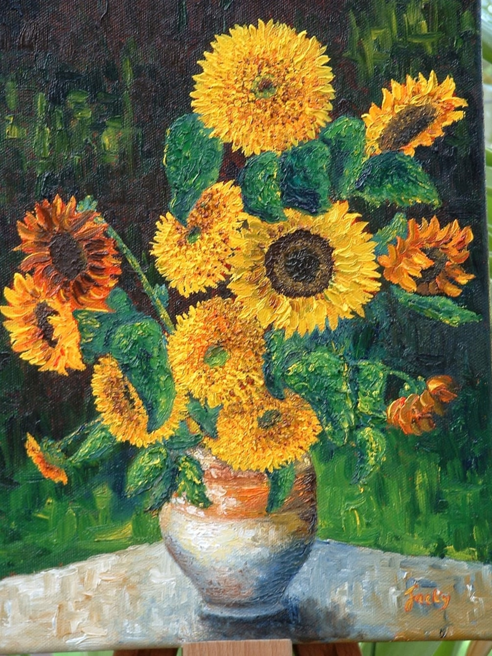 More sunflowers 2004