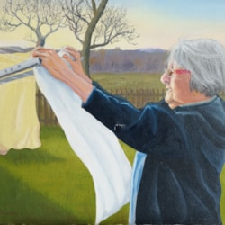 June with washing