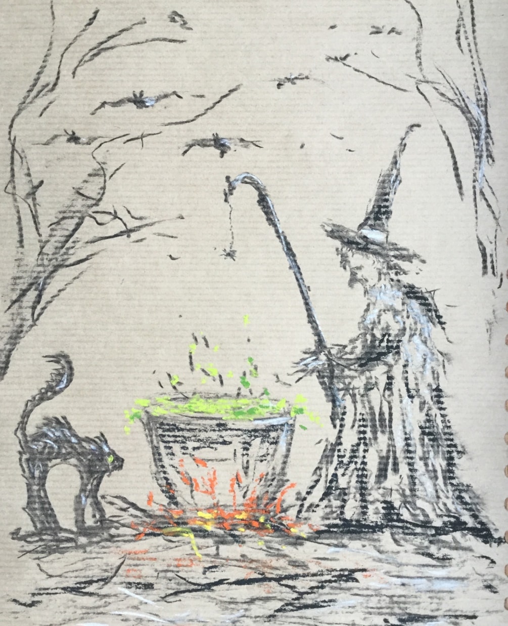 Frying Tonight! A Witch for Mia.