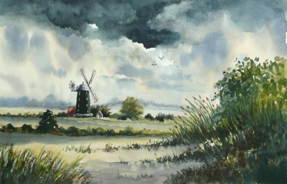 Tower Mill, Burnham Overy Staithes, Norfolk