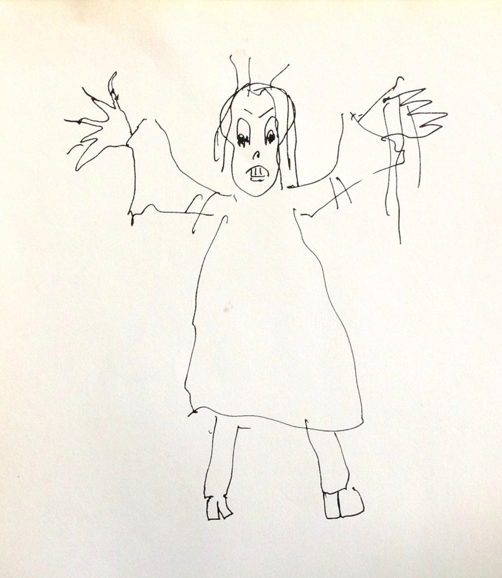 Monster Challenge 5 minutes sketch