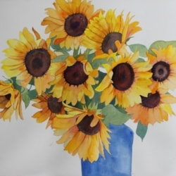 sunflower bunch