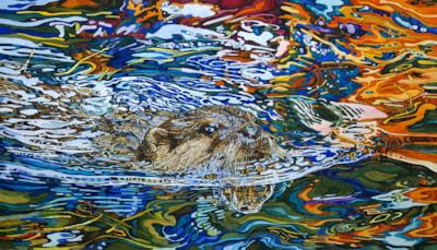 Autumn magic  (otter)