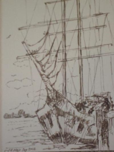 training brig berthing