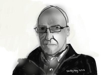 IPad portrait for indexing magazine