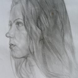 Diana. Portrait