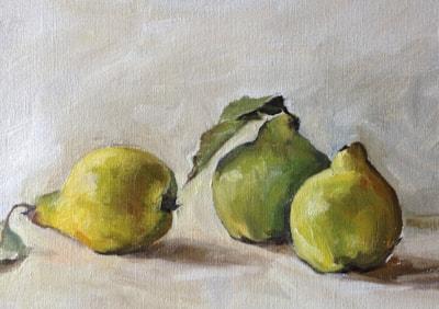 Three quinces