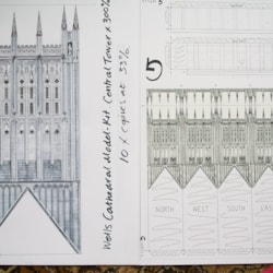 More Drawings of Wells Cathedral.