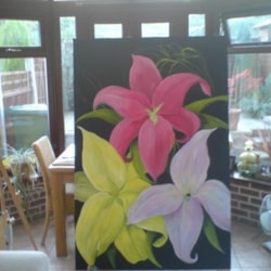 Lily's Part Finished work