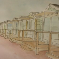 Lytham St Annes Beach Huts