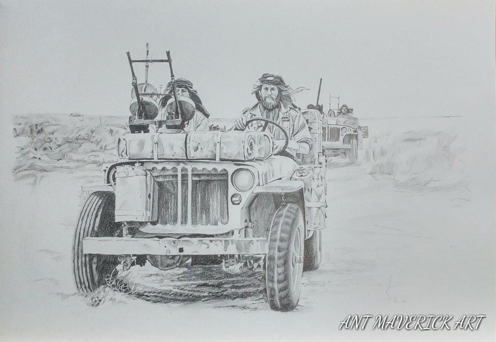LRDG.... WW2 Desert Ghosts