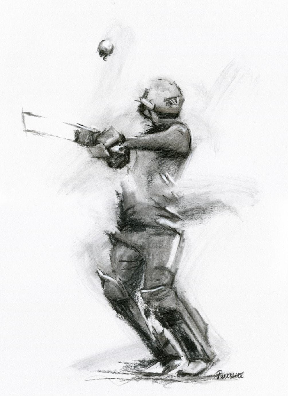 Cricket World Cup Sketch 2