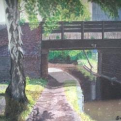 Gilberts Bridge, going towards Oldbury