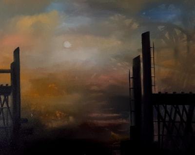 Sheffield 1970 - the sky of steel
