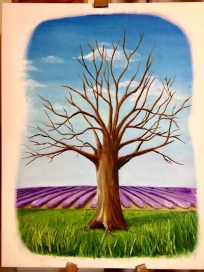 Lavender oaks