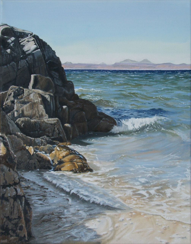 Camusdarach Rocks, Arisaig, Scotland