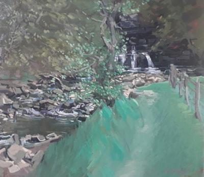 Cotter Falls, Wensleydale.