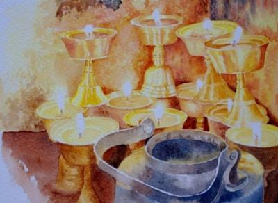 Ballancing goblets
