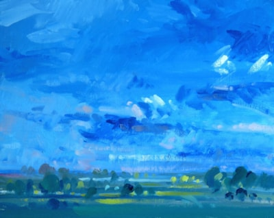 July Challenge - Summer Skyscape.