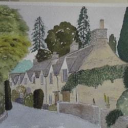 castlecombe village