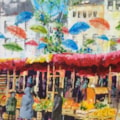 French Market Loire, © SOLD
