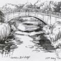 Thoresby Estate green bridge
