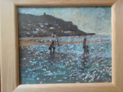 sennen cornwall towards dusk.. SOLD