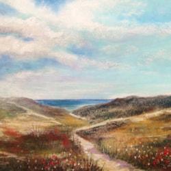 Glimpse of Duridge Bay by Carole D Kelly