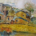 French farmhouses
