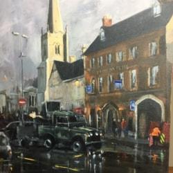 Market Place Rain