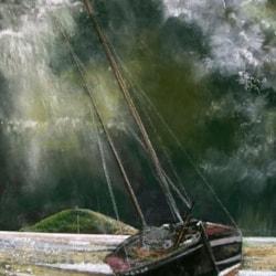 Boat in Alnmouth Estuary