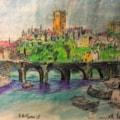 The Holy City from Elvet Riverside.
