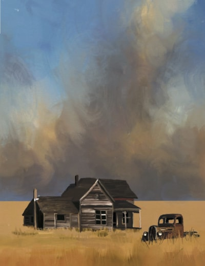 American Gothic - Storm Coming