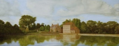 Carew Mill and pond