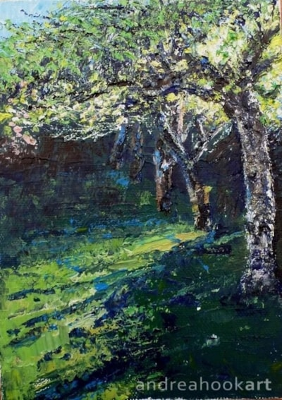Orchard, Early Evening
