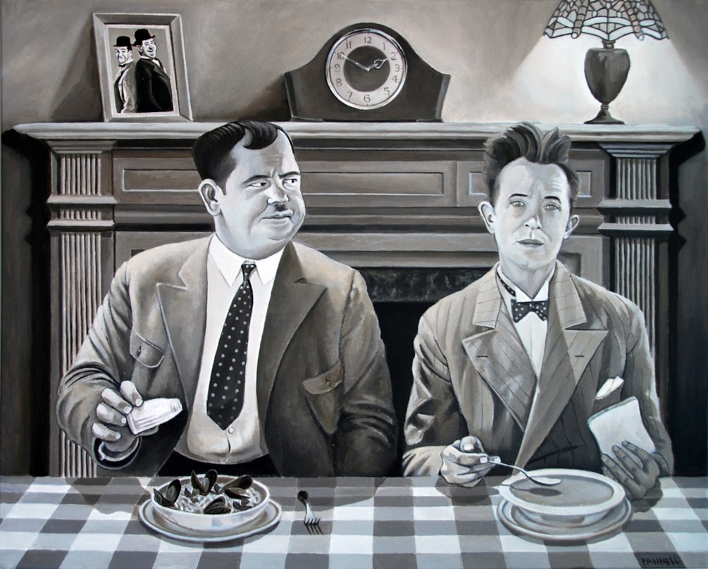 Laurel & Hardy - You're Darn Tootin