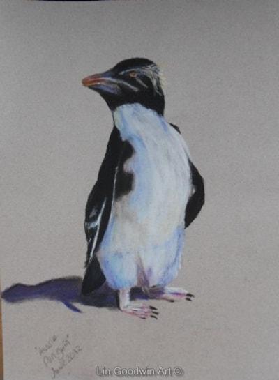 Penguin With Attitude (Aussie Penguin)