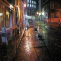 Light Drizzle at Artillery Lane