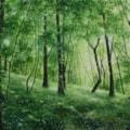 In the greenery
