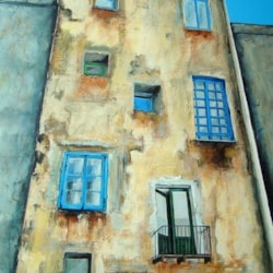 Old building medieval quarter - Capri