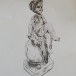 Statue from Walled Garden