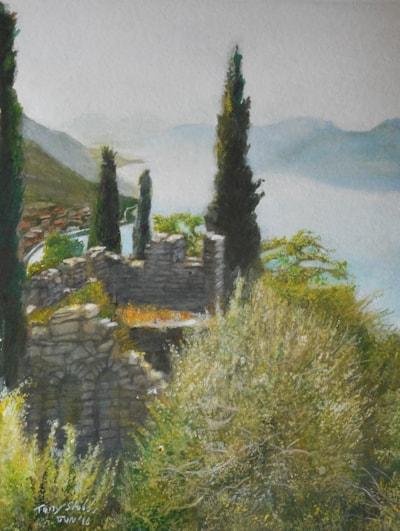 Lake Como, from Castillio Vezio