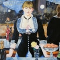 'A bar at the Folie Bergere' Manet