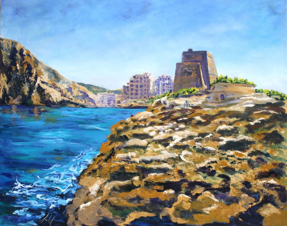 Knights of Malta Watch Tower Xlendi