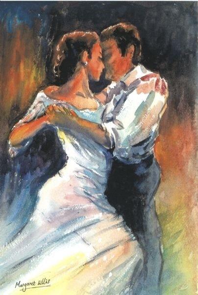 Tango - after Castagnet