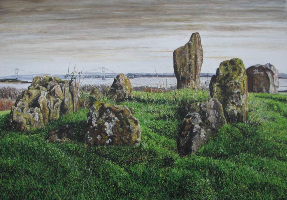 Heston Brake Burial Chamber - Monmouthshire