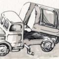 dustbin van